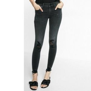 Express Jeans Mid-rise Ankle Legging